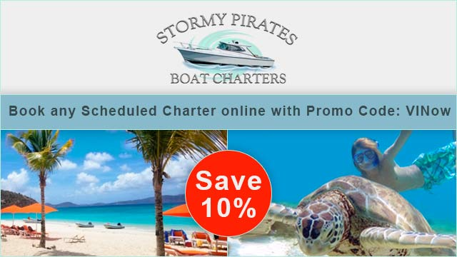 Stormy Pirates Boat Charters Coupon