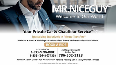 Mr. Nice Guy - Ride Experiences That Move You